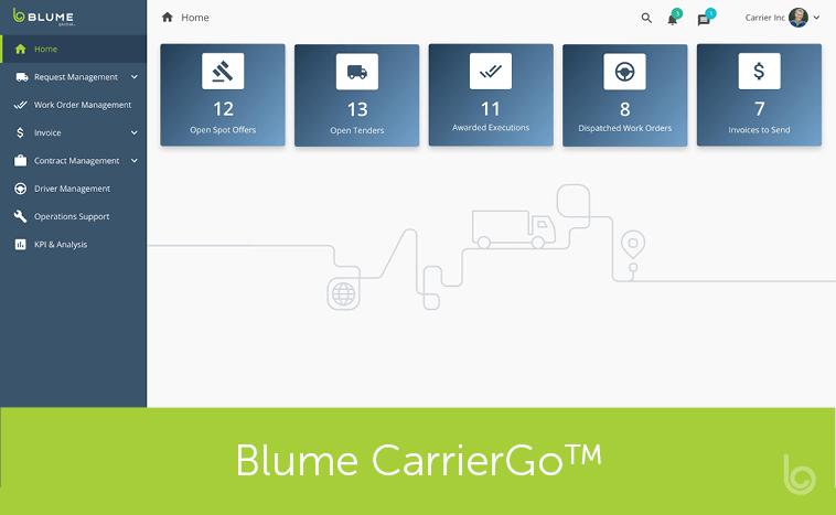Introducing Blume CarrierGo™
